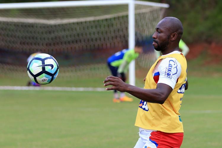 Armero atuou em apenas quatro partidas neste Brasileiro - Foto: Felipe Oliveira | EC Bahia