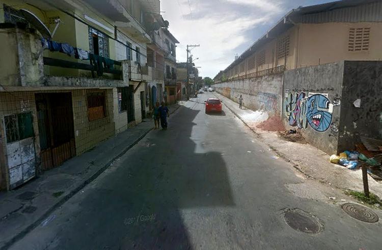 O crime aconteceu na rua Obaluaê, nas proximidades do Shopping Outlet Center - Foto: Reprodução l Google Maps