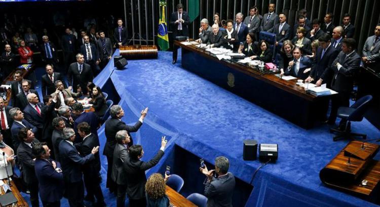 Projeto que institui um fundo eleitoral foi discutido no Senado - Foto: Marcelo Camargo l Agência Brasil