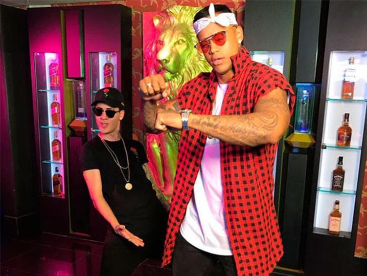 Kevinho e Léo gravaram videoclipe da música 'Encaixa' - Foto: Divulgação