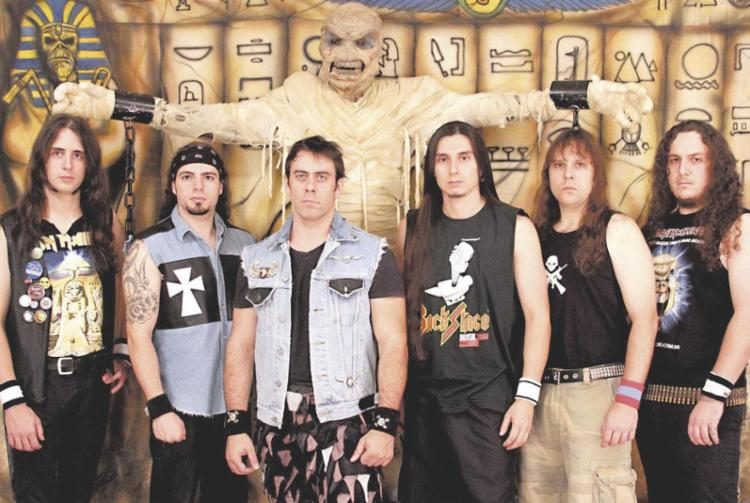 A Banda Children of The Beast, cover do Iron Maiden, se apresenta na sexta no Rio Vermelho - Foto: Divulgação