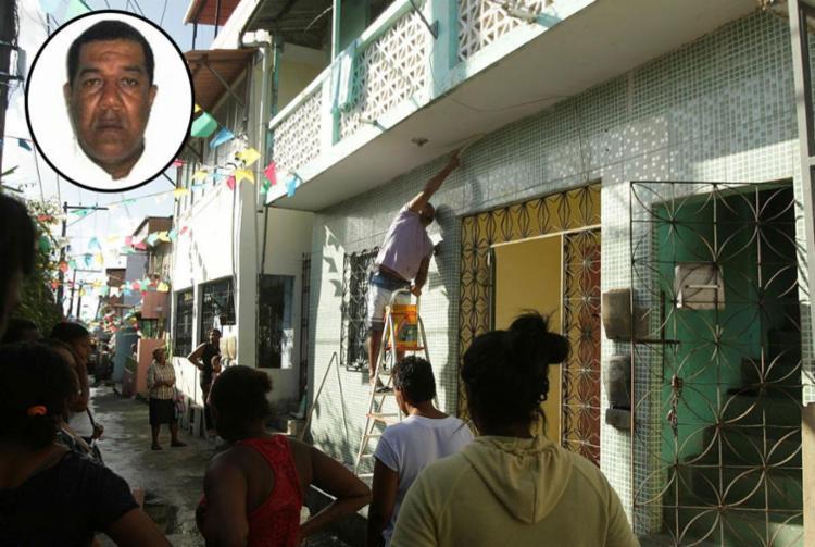 Rodoviário foi morto na porta de casa em Campinas de Pirajá - Foto: Xando Pereira | Ag. A TARDE