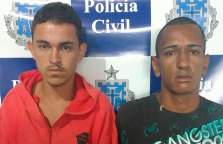 Eles teriam ameaçado os moradores da casa com uma faca - Foto: Divulgação | Polícia Civil