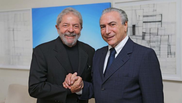 LULA E TEMER SE DIZ VÍTIMA (COITADOS!)