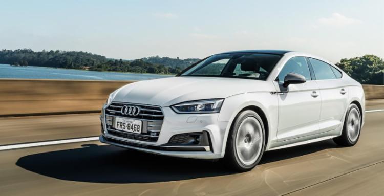 Audi A5 Sportback, de R$ 189.990, é um dos importados que estreiam no segundo semestre - Foto: Audi | Divulgação