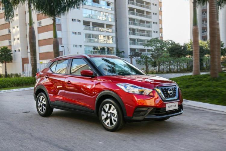Agora nacional, Nissan Kicks parte de R$ 70.500 na versão S equipado com câmbio manual - Foto: Nissan | Divulgação