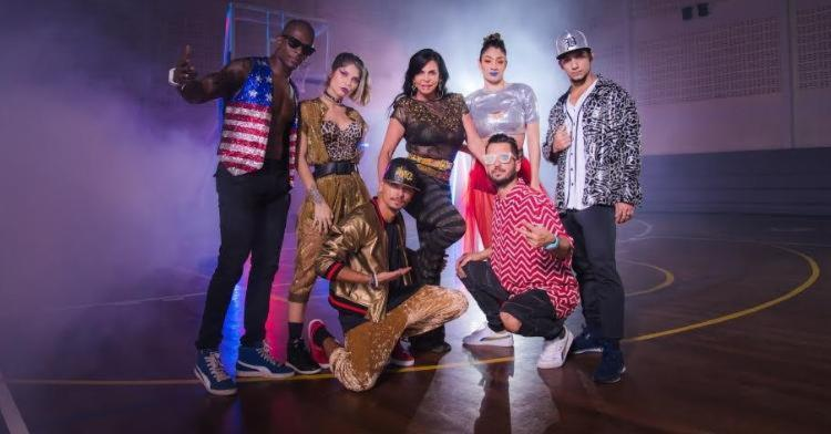 Gretchen vai se apresentar com o grupo Fit Dance no dia 29 de julho - Foto: Divulgação