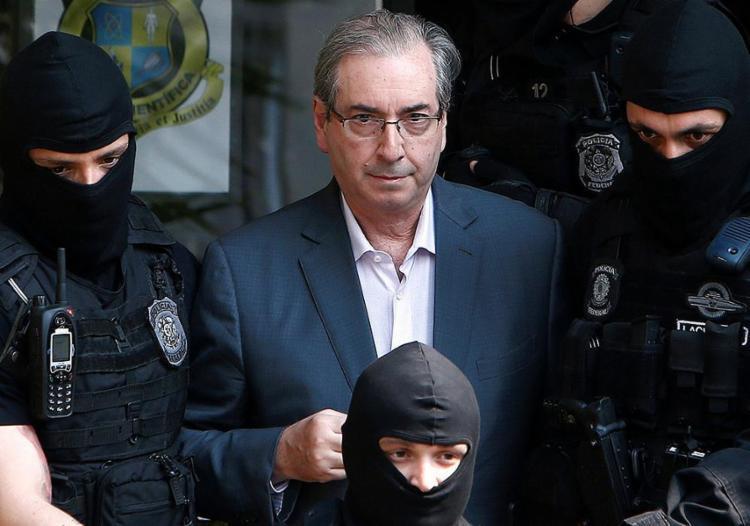 Eduardo Cunha está preso no Complexo Médico Penal, em Pinhais, Curitiba, desde outubro do ano passado - Foto: Rodolfo Buhrer l Reuters l 20.10.2016