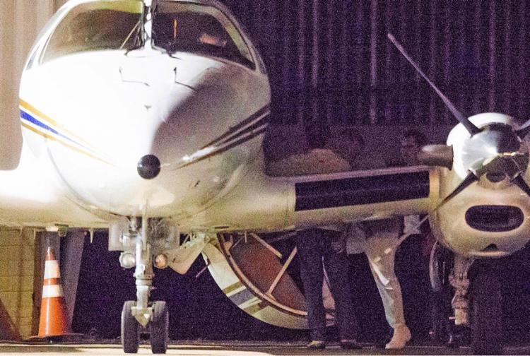 Ex-ministro Geddel Vieira Lima embarca em aeronave de volta à Bahia - Foto: Dida Sampaio l Estadão Conteúdo