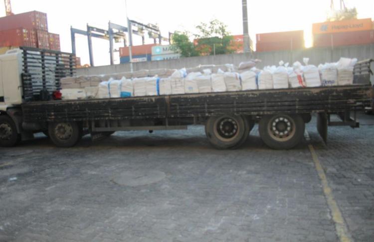 Operação Conjunta da polícia apreende aproximadamente 4 toneladas de drogas em Salvador