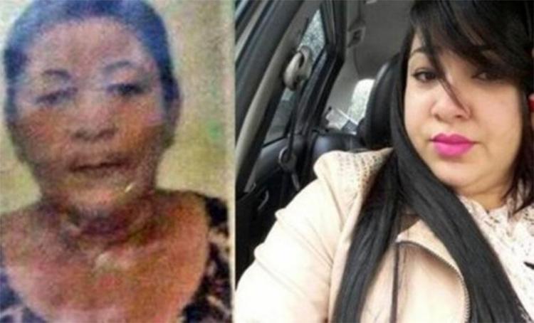 Corpos de Leda e Marize foram achados com marcas de tiros - Foto: Reprodução | Simões Filho