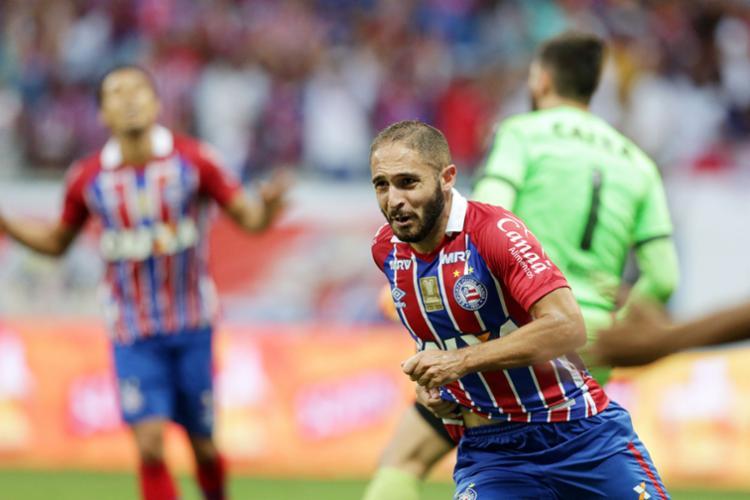 Régis (foto) e Eduardo serão titulares na partida deste domingo - Foto: Raul Spinassé | Ag. A TARDE | 30.04.2017