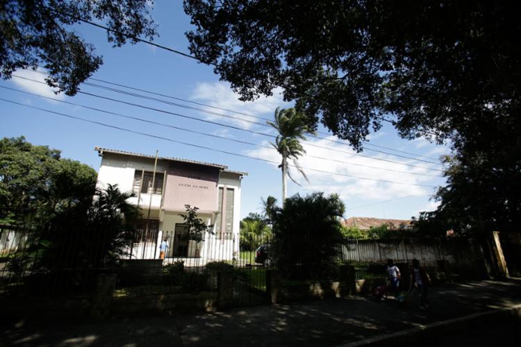 O fórum da cidade de São Gonçalo dos Campos, que passará a receber ações da cidade de Conceição da Feira - Foto: Raul Spinassé | Ag. A TARDE | 13.07.2017