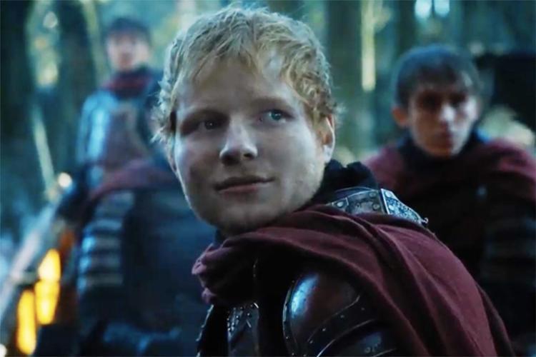 Personagem Ed, do cantor Ed Sheeran em Game of Thrones - Foto: Reprodução | YouTube