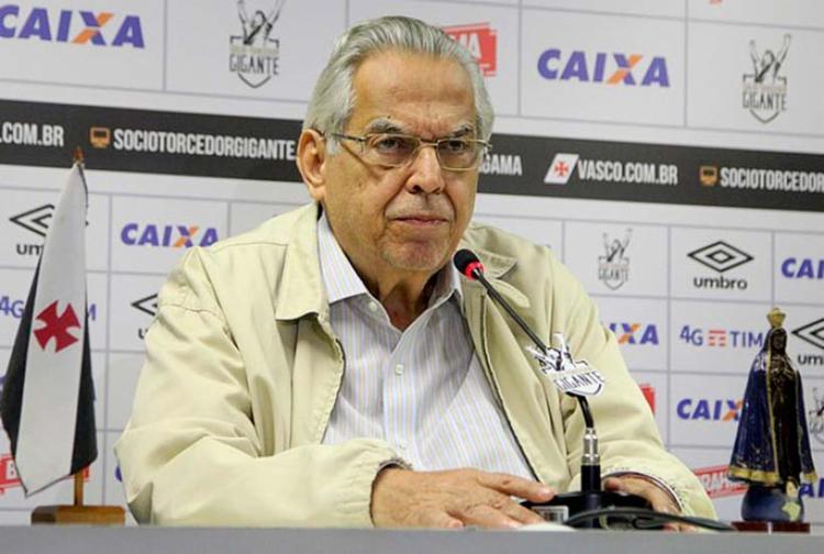 Ele reforçou que não apoiou nenhuma torcida organizada e que o clube não tinha interesse na confusão - Foto: Paulo Fernandes | Vasco.com.br | Divulgação