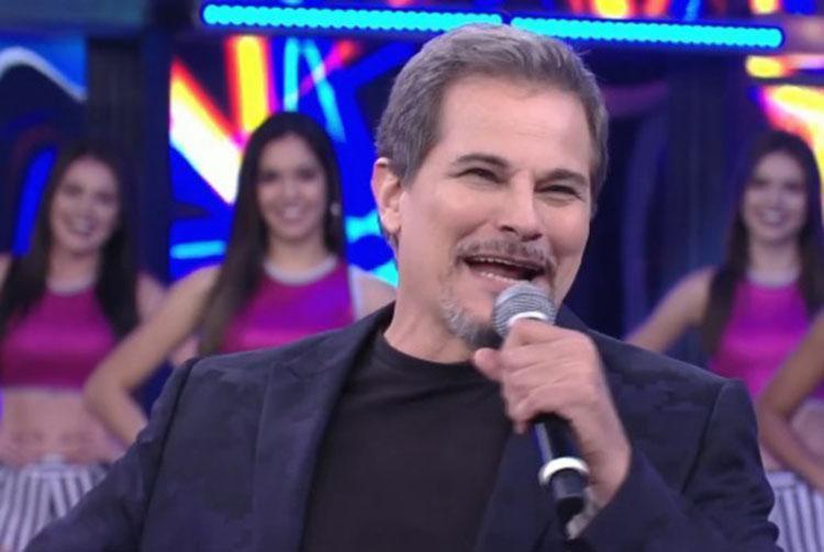 Celulari foi surpreendido pelos filhos - Foto: Reprodução | TV Globo