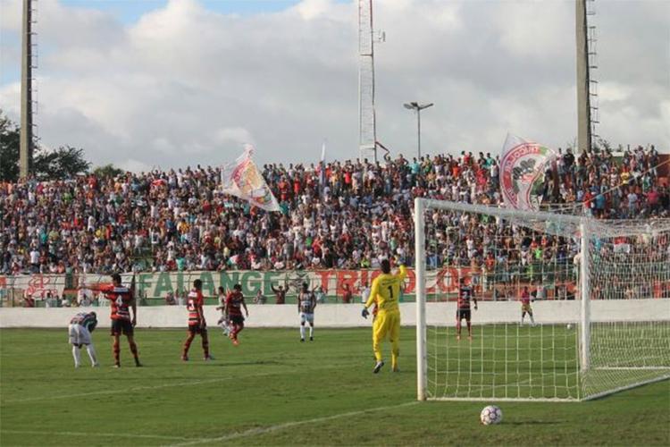 Touro do Sertão empatou sem gols e garantiu vaga na próxima fase - Foto: Cristiano Alves l Fluminense de Feira
