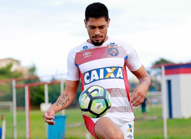 'Brocador' se recupera após sofrer uma fratura na tíbia - Foto: Felipe Oliveira l EC Bahia