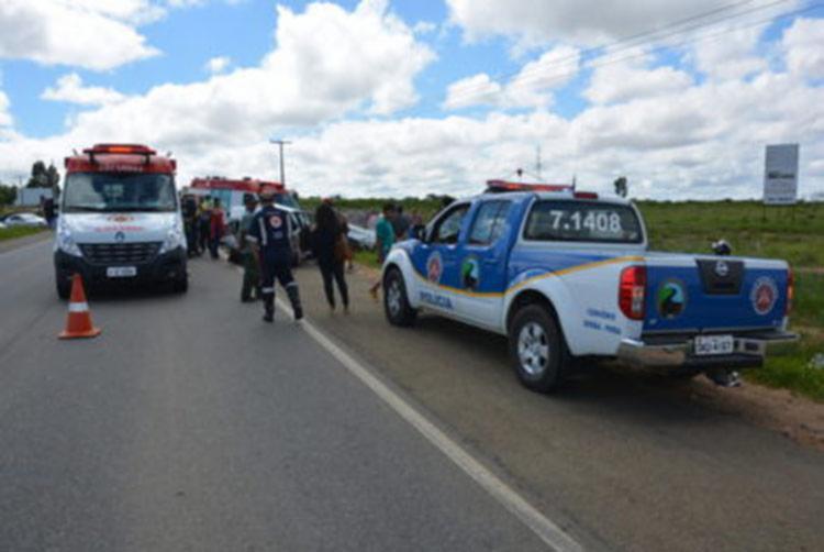 O acidente aconteceu no trecho entre Ibitira e Caetité - Foto: Reprodução   Blog do Anderson
