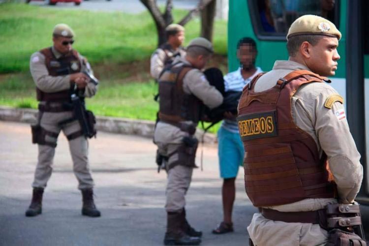 Polícia intensificou repressão e aumentou em 14% o número de prisões - Foto: Alberto Maraux   Divulgação   SSP