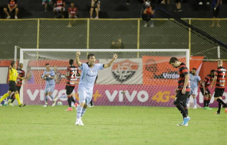 Leão sofreu mais um revés no Barradão, agora para o Tricolor gaúcho - Foto: Margarida Neide | Ag. A TARDE
