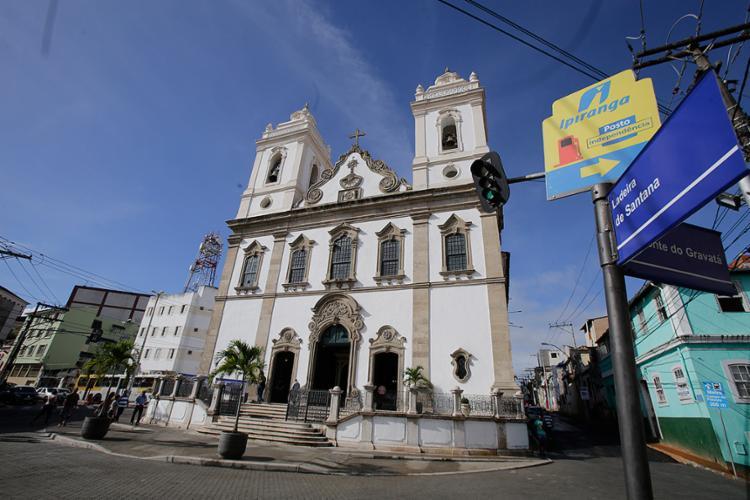 Obras incluem pavimentação, além de acessibilidade - Foto: Xando Pereira l Ag. A TARDE