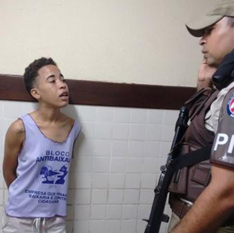 Caroline admitiu que plano era matar a adolescente de 13 anos e a mãe da vítima - Foto: Raul Aguilar l Ag. A TARDE