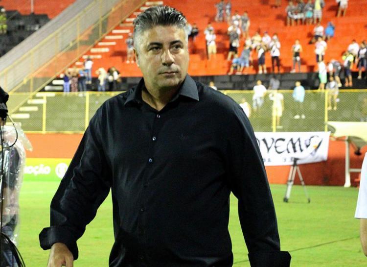 """Alexandre Gallo, técnico do Vitória: """"O Vitória é uma equipe grande e não pode estar nessa situação que está"""" - Foto: Mauricia da Matta l EC Vitória"""