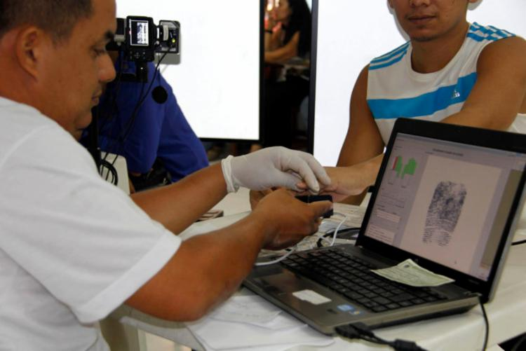 Biometria é obrigatória e deve ser realizada até 31 de janeiro - Foto: Dani Valente | Ascom Fasepa | Foros Públicas