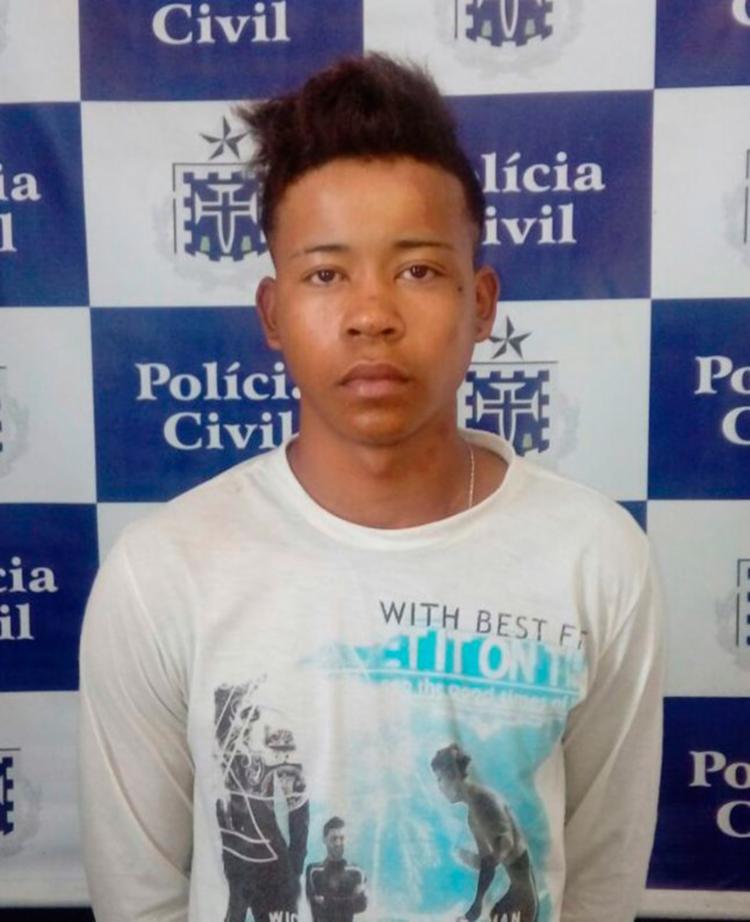 George da Cruz Cardoso foi autuado por estupro de vulnerável - Foto: Divulgação | Polícia Civil