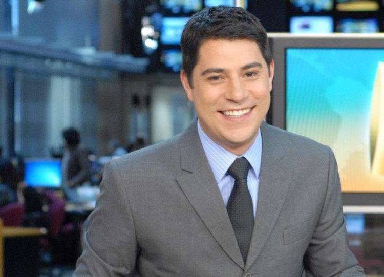 Evaristo na bancada do Jornal Hoje - Foto: Reprodução | TV Globo