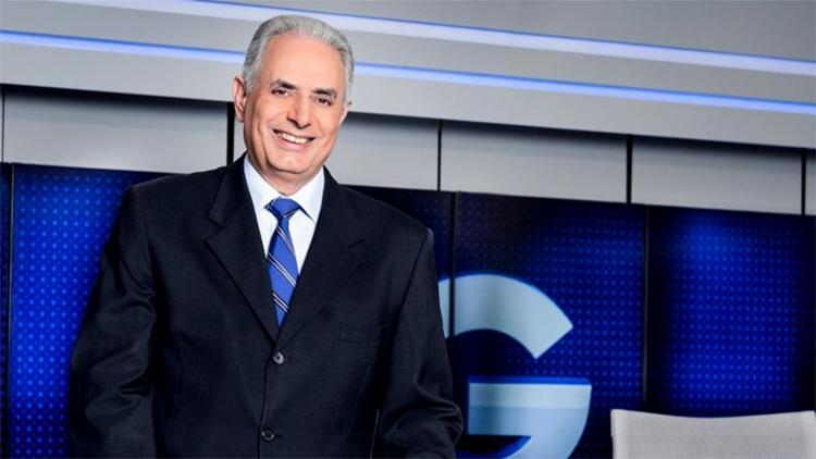 O jornalista está internado no Sírio-Libanês, em São Paulo - Foto: Ramon Vasconcelos l Rede Globo