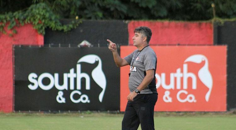 Gallo deixa o time na véspera de jogo com Chapecoense - Foto: Maurício da Mata | Divulgação | ECVitória