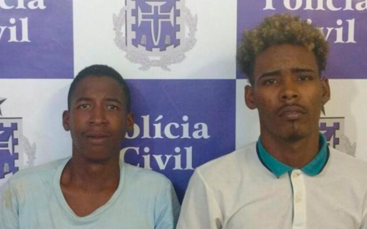 Dupla já possui passagens pela polícia por tráfico de drogas e roubo a ônibus - Foto: Alberto Maraux | SSP