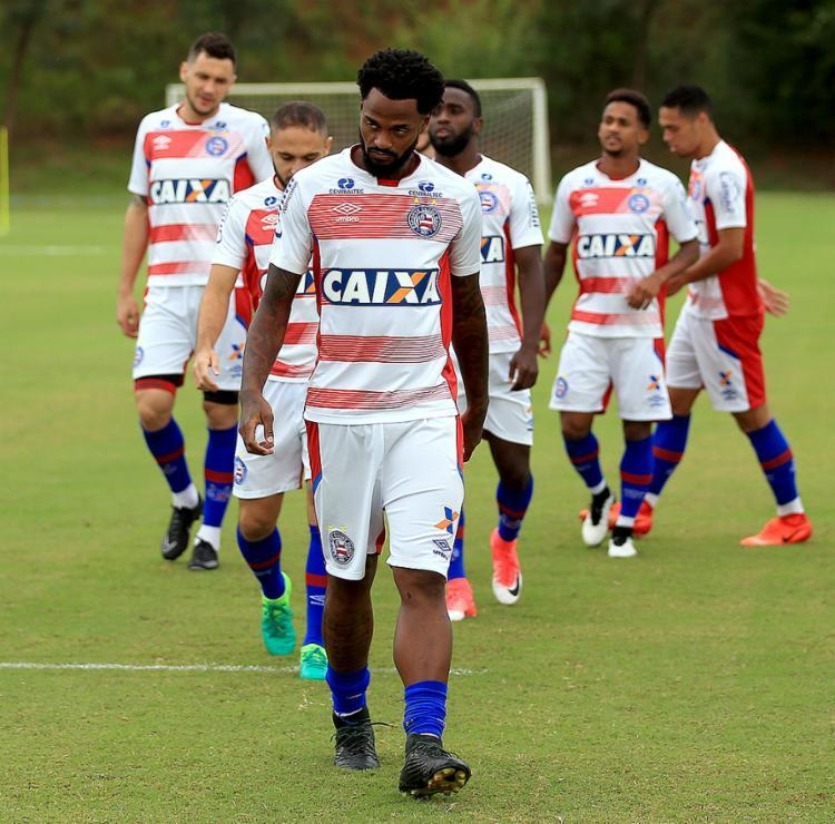 Renê Júnior defendeu o Santos em 2013 e pode dar boas dicas aos colegas de Bahia - Foto: Felipe Oliveira l EC Bahia