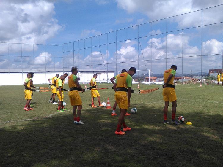 Fluminense se prepara para encarar o rival no Joia da Princesa - Foto: Cristiano Alves l Fluimense de Feira