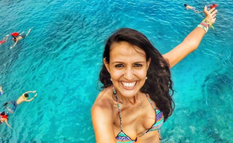 Gabriela relata suas aventuras em página no Facebook - Foto: Divulgação