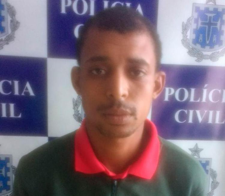 Gislan foi autuado por tráfico de drogas e posse ilegal de arma de fogo - Foto: Divulgação | Polícia Civil