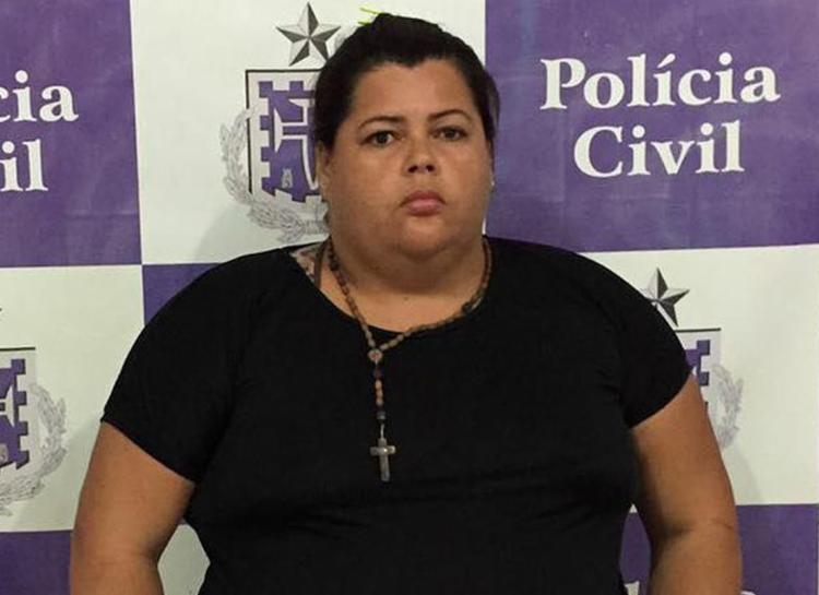 Marta Dias de Barros foi autuada em flagrante por homicídio qualificado - Foto: Divulgação | Polícia Civil