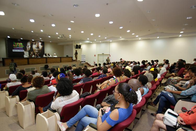 Evento aconteceu no auditório do Ministério Público estadual, localizado no CAB - Foto: Mila Cordeiro l Ag. A TARDE