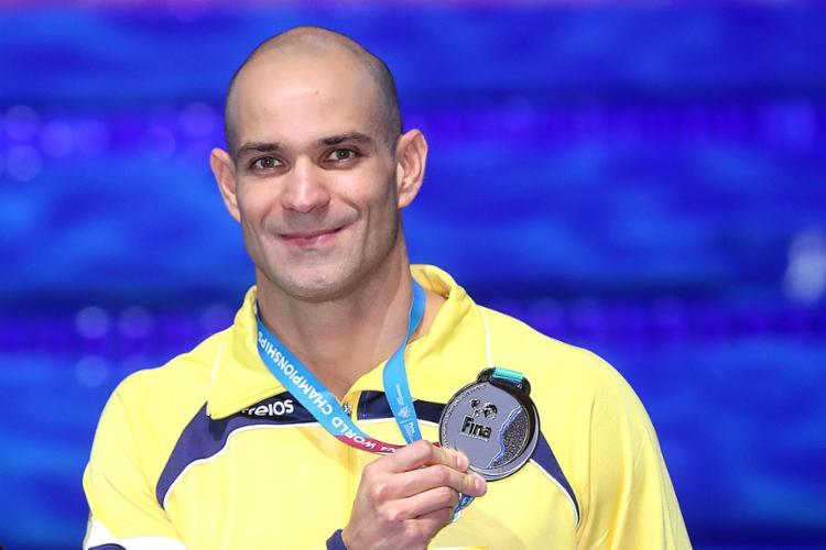 Mais experiente nadador no Mundial, Nicholas faz história com 2 medalhas de prata - Foto: Sátiro Sodré l SSPress l CBDA