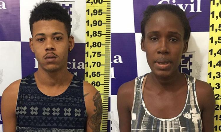 Edílson e Ana Célia pediram dinheiro para devolver celular furtado pela filha - Foto: Divulgação | Polícia Civil