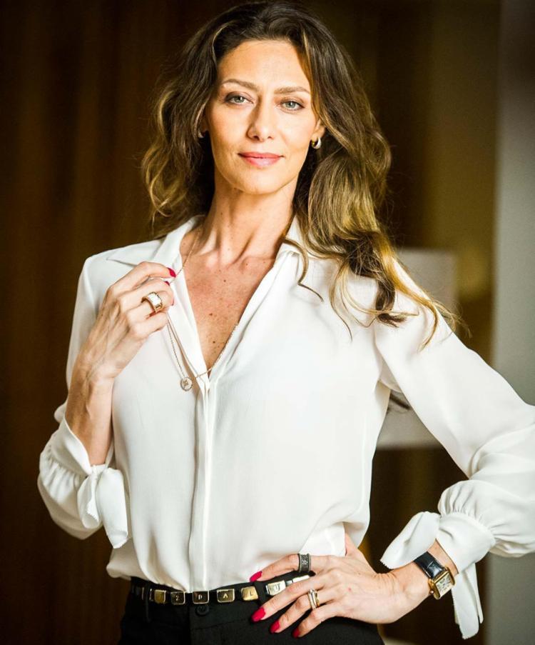A atriz Maria Fernanda Cândido vive a personagem Joyce em novela - Foto: Mauricio Fidalgo   TV Globo