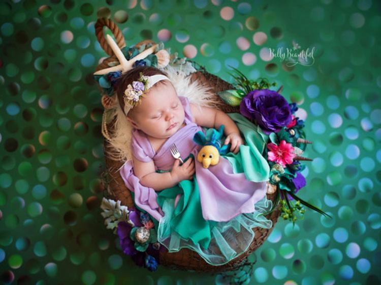 Princesa Ariel - Foto: Karen Marie | Belly Beautiful | Divulgação