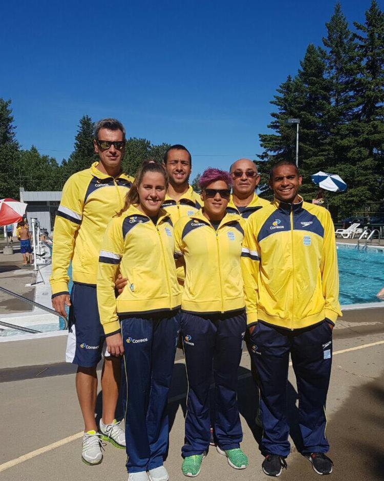Seleção brasileira de maratona aquática já está no Canadá para duas etapas da competição - Foto: Allan do Carmo   arquivo pessoal