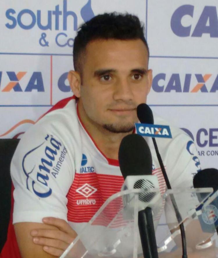 Atacante não entra em campo desde a partida contra o Vasco - Foto: EC Bahia | Divulgação