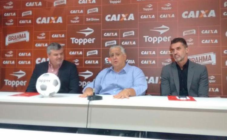 Cléber Giglio e Vagner Mancini passam a compor à equipe do Vitória. - Foto: Juliana Lisboa | Ag. A TARDE