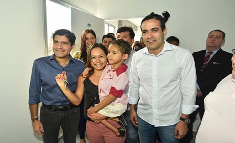 A cerimônia contou com as presenças do prefeito ACM Neto - Foto: Divulgação l Secom-PMS