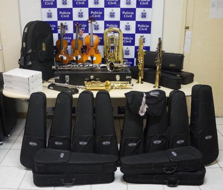 Material recuperado foi avaliado em R$ 30 mil - Foto: Divulgação | Polícia Civil