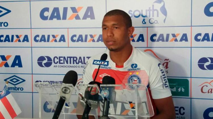 Rodrigão quer repetir a atuação contra a Ponte Preta, quando marcou dois gols - Foto: Divulgação   EC Bahia